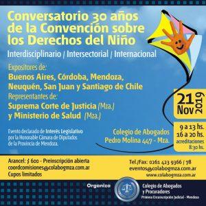 Conversatorio sobre el estado actual de la Convención sobre los Derechos del Niño