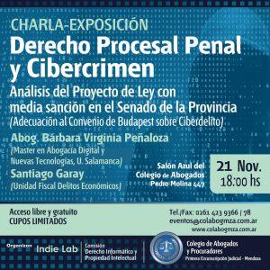 Charla sobre Cibercrimen y Derecho Procesal Penal