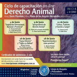 Ciclo de capacitación sobre Derecho Animal