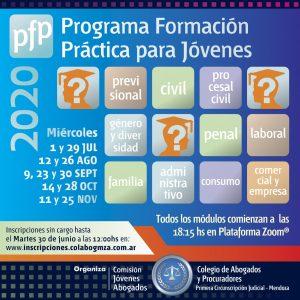 Programa de Formación Práctica para jóvenes abogados