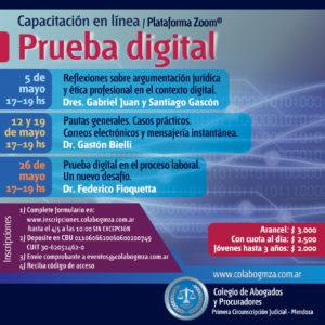 Debatirán sobre la prueba electrónica digital en el proceso judicial