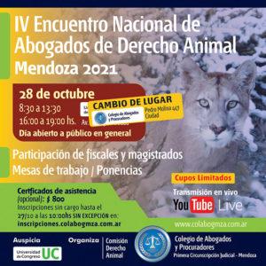 IV Encuentro Nacional de Abogados de Derecho Animal